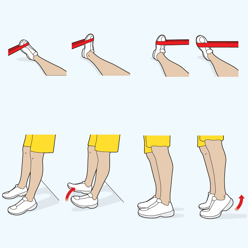 Foot strength instructions