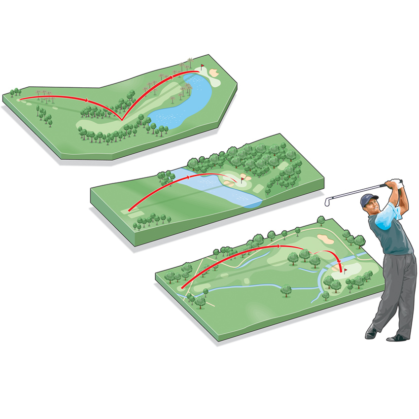 Best golf holes infographic