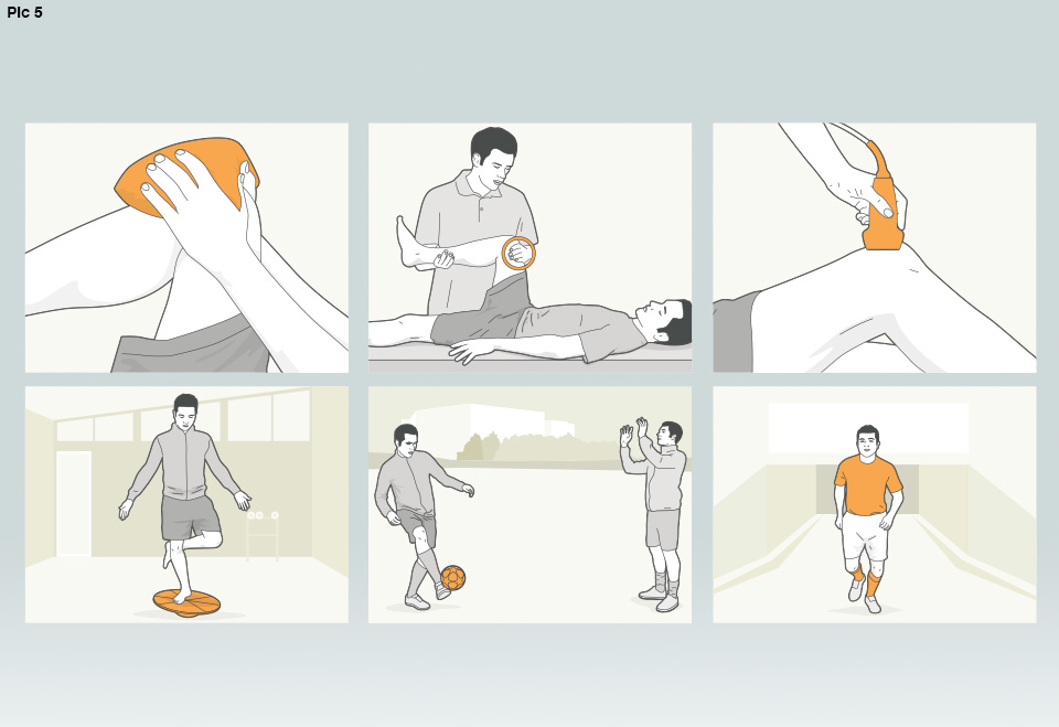 Fitness drill graphic