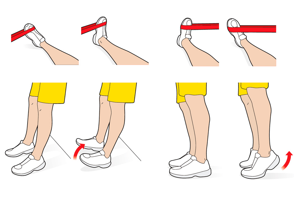 PHYSIOTHERAPY ILLUSTRATIONS