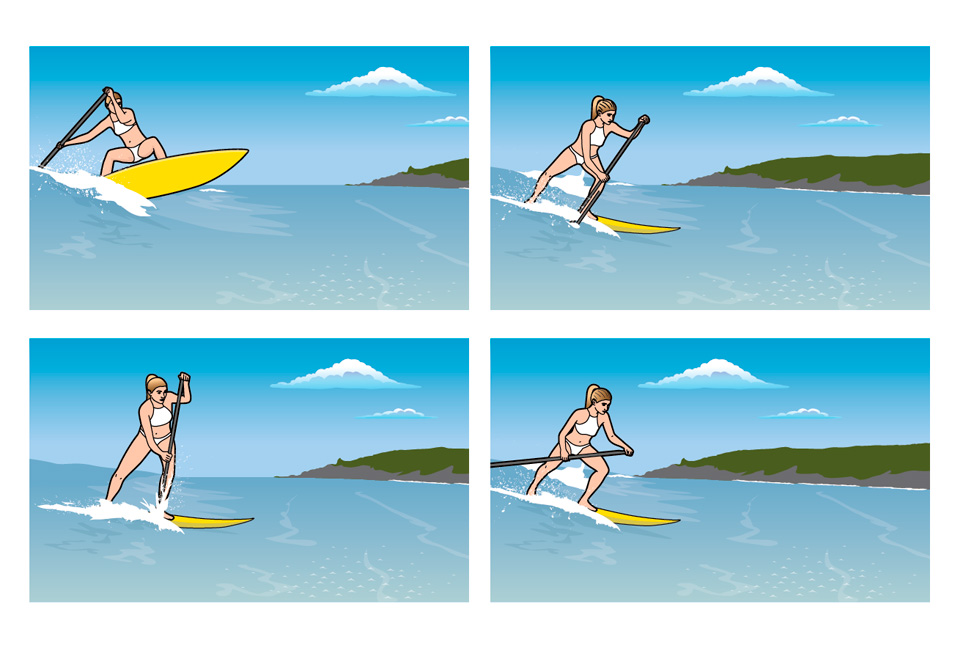 Stand up Paddleboard graphics
